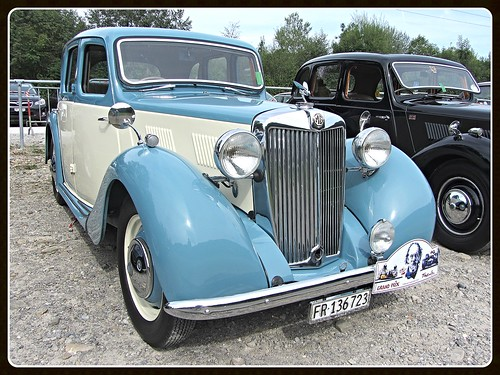 MG Type YA, (1947-51)