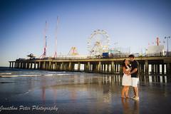 Danielle & Gregg - Atlantic City Engagement Session (Jonathon Peter Photography) Tags: jonathonpeterphotography engagementshoot atlanticcity ac beach steelpier