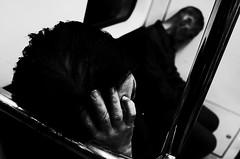 no.934 (lee jin woo (Republic of Korea)) Tags: snap photographer street blackandwhite ricoh mono bw shadow subway self hand gr korea snapshot streetphotograph photography monochrome