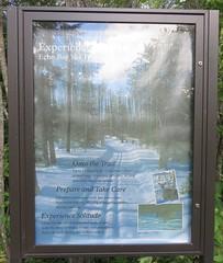 Echo Bay Trail Marker (Voyageurs National Park, Minnesota) (courthouselover) Tags: minnesota mn saintlouiscounty stlouiscounty voyageursnationalpark nationalparks nationalparksystem northamerica unitedstates us