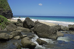 Hanakapiai Beach - Na Pali Coast - Kauai, Hawaii, US (Stickwork-Steve) Tags: beach kauai hanakapiai
