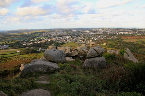Redruth from Carn Brea