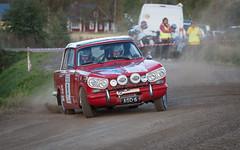 VI Seinjoki Ralli (KeeperinEri) Tags: red rally rallye seinjoki ralli finland motorsport historic historicrallytrophy 2016 classic car seinjokiralli triumph vitesse