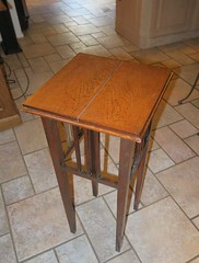20160814_1938_405_PROJECT-table (EasyAim) Tags: woodtable repair plantstand colleyville usa