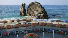42-30585001 (nataliethaile) Tags: nobody daytime nationalpark beach beachumbrella boulder cinqueterre cinqueterrecoast coast nationalparkofthecinqueterre europe horizon horizonoverwater italianriviera italy laspeziaprovince landscape light liguria loungechairs marinescene mediterraneansea monterosso riviera rock sand scenic sea seascape shadow relaxation sunshine travel unescoworldheritagesite vacation water shoreline publicland outdoors westerneurope