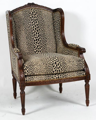 Pair of Henredon Leopard Print Chairs ($1,568.00)