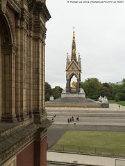 Albert Memorial (DSC08205) (Michael.Lee.Pics.NYC) Tags: london england unitedkingdom princealbert albertmemorial royalalberthall architecture kensingtonpark sony a7rm2 fe2470mmgm