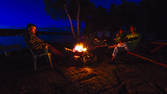 Listen to the song of the fire (Ismail Atiev) Tags: rons cottage ontario back country camping camp fire relax summer nice nature