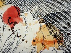 DSC0966847 (scott_waterman) Tags: scottwaterman painting paper ink watercolor gouache lotus lotusflower detail
