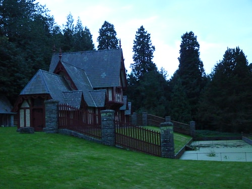 Fowl House at Dusk