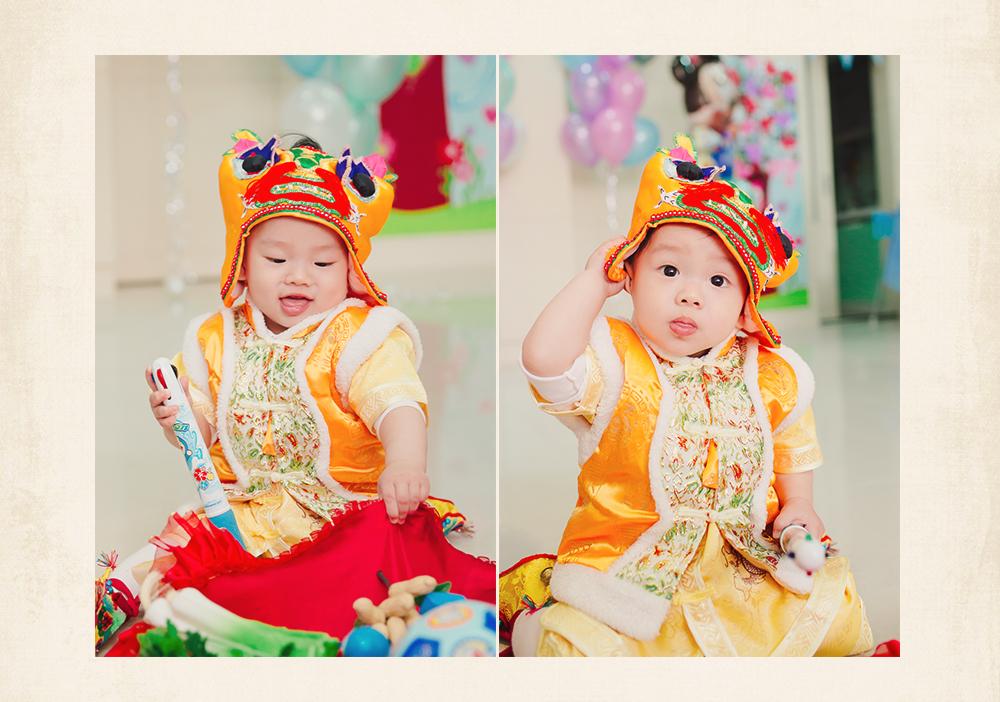 週歲派對 虎衣 寶寶生日派對攝影 在家佈置生日派對 Baby's 1st Birthday Party