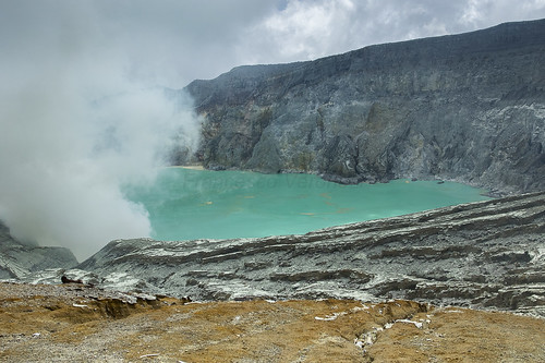 Caldera and the lake - Ijen East Java_MG_7809