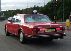 1988 Bentley Turbo R (Stuart Axe) Tags: bentley rollsroyce v8 red brooklands turbor car classic classiccar rr 1988 england uk unitedkingdom gb greatbritain