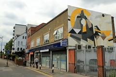 mark mclure (Luna Park) Tags: london walthamstow woodstreetwalls streetart mural production lunapark markmcclure wood mosaic
