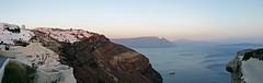 Oia panoramic view (somabiswas) Tags: oia santorini village aegean sea greece panorama