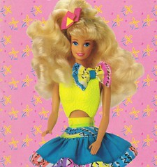 1991 Snap N Play Barbie Doll #3550 (The Barbie Room) Tags: 1991 snap n play barbie doll 3550 1990s 90s 1992 colouring coloring colour color book