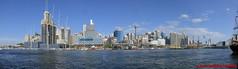 Sydney - Darling Harbour - Panorama (soyouz) Tags: aus australie darlingharbour geo:lat=3386684300 geo:lon=15119861800 geotagged newsouthwales sydney sydneytower panorama australiel