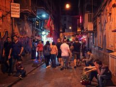 Kids selling flowers off Istiklal Street in Istanbul (CamelKW) Tags: turkey2016 kids selling flowers istiklalstreet istanbul turkey night