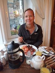 e ferndene breakfast 1 (Simon -n- Kathy) Tags: keswick england lakedistrict lakelands hike rain walk castlerigg