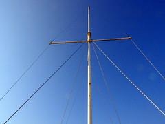 Mast (Zandgaby) Tags: niobe ship sky symmetric boat