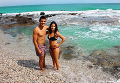 399 (paula_pepper) Tags: paula pepper cruz playa beach de los muertos almeria espaa blue azul summer pareja couple belleza beauty woman girl sexy smile dark skin sea sighseeing paisaje costa orilla piernas legs bikini jovenes young love amor feliz happy happiness georgeous guapo handsome guapa