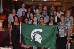 Photo representing South Africa with MSUAA, 2012