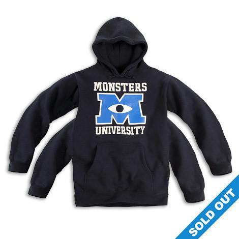 怪獸電力公司2:「怪獸大學」周邊商品開賣啦!~