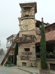 Clocktower, Tbilisi (Hanoi North End) Tags: georgia lumix clocktower panasonic tbilisi 84 sakartvelo 52000   tz8 zs5