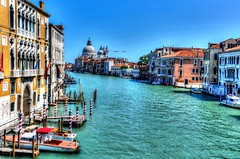 Venise grand canal HDR