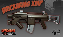 Yes, you can now wield it! (BrickArms) Tags: lego fps xmp brickarms offensivecombat u4iagames