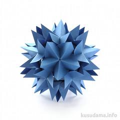 Concordia (ronatka) Tags: blue rectangle modularorigami tant kusudama inexplore tantpaper nataliaromanenko rectangle13