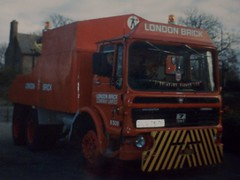 AEC Recovery Truck, DLG 767F. (LBCSteve) Tags: red brick london truck recovery aec
