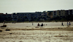 the beach  st. simons ga. (bluebird87) Tags: film beach st ga island nikon women epson n80 simons 4490
