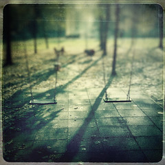 absence of (Maurizio Targhetta) Tags: city playground square seesaw streetphotography urbanlandscape recreationground