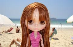 Eu fui na praia !
