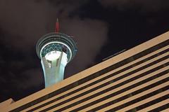Stratosphere Tower (Shaun Jones LA) Tags: vegas building tower architecture night buildings lasvegas nevada stratosphere