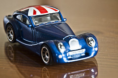 Morgan (darkfluidity) Tags: car toy morgan matchbox diecast aeromax matchboxcar