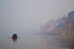 Life in the Mist ~ Varanasi (Biswajit_Dey) Tags: morning india mist travelling river boat varanasi kashi banaras ghat uttarpradesh historicalcity riverganges lifeinthemist nikond3100 bestevergoldenartists oldestcontinuouslyinhabitedcitiesintheworld