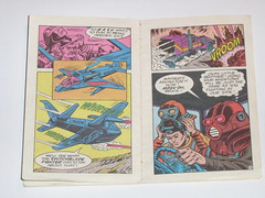 m.a.s.k mini comic 1 flaming beginnings kenner 7 (tjparkside) Tags: comic mask kenner minicomic