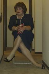 bldrsnewig12 (didi_lynn) Tags: sexy drag highheels sandals cigarette smoke jewelry pearls crossdressing hose smoking redhead tgirl hosiery dragqueen stiletto pantyhose crossdresser crossdress gurl platforms tg stilettos sexylegs longlegs stilettoes nylons classy rednails bigtits pearlnecklace longnails cfm anklebracelet peeptoes vs120
