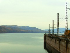Lake near the HPS (Int 1bh) Tags: hydroelectricity