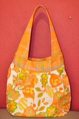 Amy Butler Birdie Sling #1 (Miss_Panama) Tags: bag sewing craft birdiesling