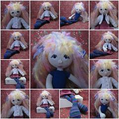 Arne&Carlos Knit Doll #2 (toureasy47201) Tags: fdsflickrtoys doll handmade knit yarn knitteddolls arnecarlos