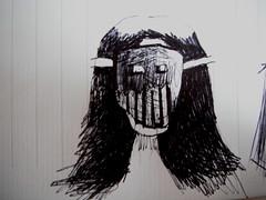 Ideas for my new book 17 (The People In My Head) Tags: blackandwhitedrawings sketchbookdrawings sketches fear fears anxieties death monsters drawings thepeopleinmyhead lizjames lizjamesbathlizjamesboxlizjamesartist