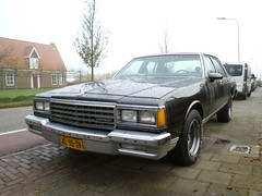 1985 Chervrolet Caprice Classic K6 (Vinylone - ISCE = On Trade Break) Tags: classic 1985 k6 caprice chervrolet