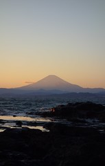 DSC01760 (No Donuts For You) Tags: new sunset japan fuji mt sony years enoshima jpeg ooc 2013 rx100