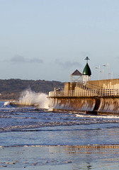Crashing waves against the sea wall (Jo Evans1 - back and trying to catch up yet again!) Tags: new morning se