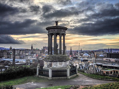 20121231-0022-Edit (www.cjo.info) Tags: sunset sky cloud scotland edinburgh cityscape unitedkingdom software newtown citycenter technique caltonhill dugaldstewartmonument exif:iso_speed=50 geo:city=edinburgh geo:state=scotland exif:make=apple iphoneography camera:make=apple geo:countrys=unitedkingdom exif:aperture=24 exif:focal_length=413mm snapseed exif:model=iphone5 camera:model=iphone5 geo:lon=3184 geo:lat=55954666666667 snapseeddramafilter snapseedonimac