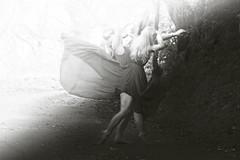 The power of love (Lotte Hansen) Tags: world uk light portrait selfportrait black tree art norway wales fairytale forest photoshop self dark hair photography europe surreal brooke gravity hansen edit lotte fineartphotography shaden lottehansen brookeshaden lottehansenphotography