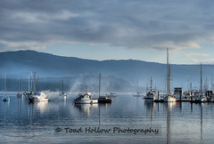 Cowichan Bay Marina - Cowichan Bay, BC, Canada (Toad Hollow Photography) Tags: ocean morning canada mountains cold reflection water clouds sailboat marina landscape boats marine frost bc vancouverisland sail vista hdr cowichan cowichanbay greatphotographers flickraward rememberthatmomentlevel4 rememberthatmomentlevel1 rememberthatmomentlevel2 rememberthatmomentlevel3